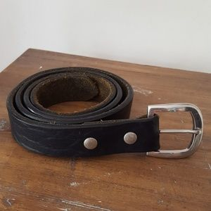 DIESEL Italy vintage leather belt Mod. Grandi